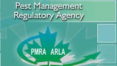 Pest Management Regulatory Agency | L'Agence de r�glementation de la lutte antiparasitaire